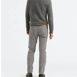 Levi's Grey Corduroy Pants